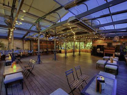 Lanai's rooftop lounge