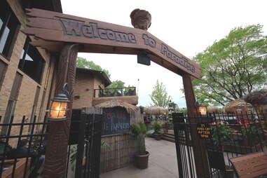 The entrance to Psycho Suzi's