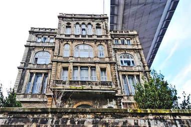 Turkish Mansion Under Bridge Waterside