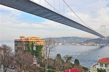 Turkish Bridge, Mansion, Bosphorus