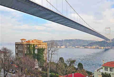 Turkish Bridge, Mansion, Bosphorus