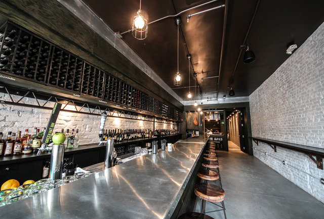 Oh, this? It\'s just DC\'s first ever pork and sherry bar