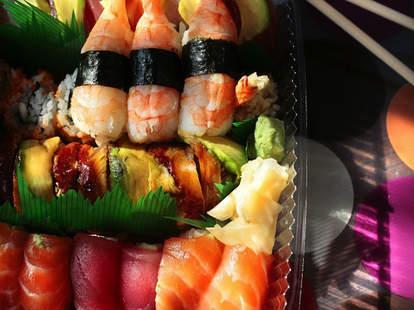 Sushi at Horinoya in New Orleans