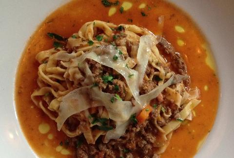 Tagliatelle Pasta with Duck Ragu