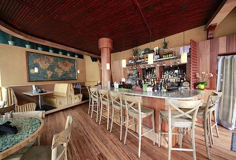 The interior of Sand Bar.