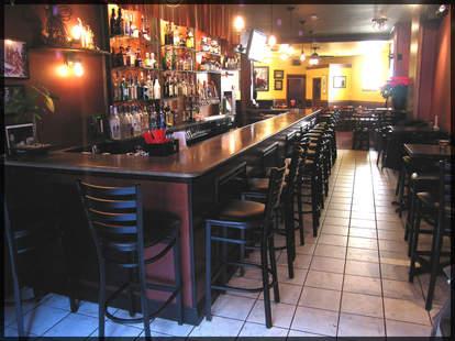 Noir Interior Bar