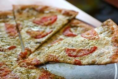 Pesto is Besto at Mansini's Pizza House