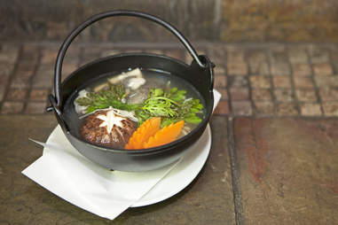 cod stew at Izakaya Den