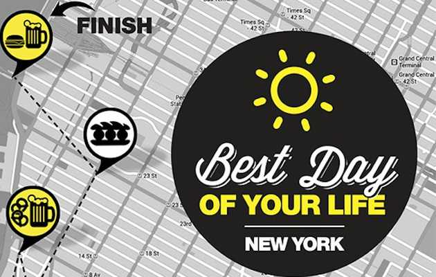 #BDOYL. It's here, New York.
