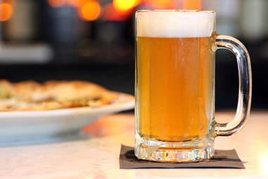 Mug of beer at Society on High