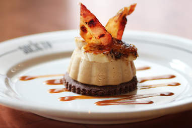 """""""The Elvis"""" peanut butter cheesecake at Society on High"""