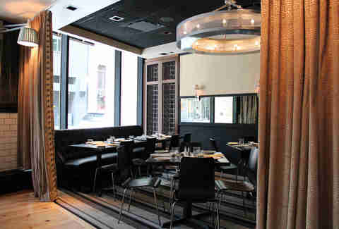 Private dining room at Society on High