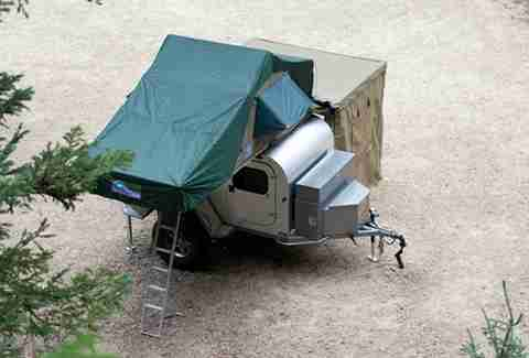 Moby 1 Expedition Trailer with tent