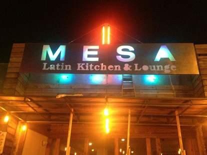 Exterior shot of Mesa