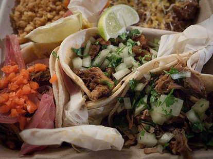 Tacos at Santeria