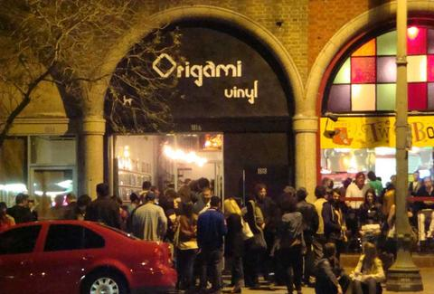 Exterior of Origami Vinyl in Los Angeles