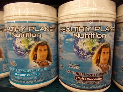 Fabio's latest line of whey protein powders