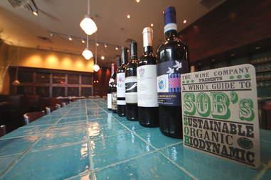 SOB wines at Bluestem Bar & Table in Minneapolis