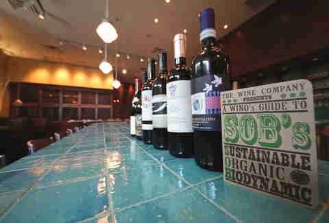 SOB wines at Bluestem Bar & Table in Minneapolis