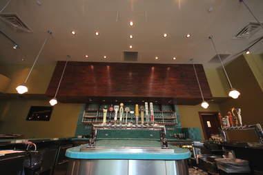 Beer list at Bluestem Bar & Table in Minneapolis