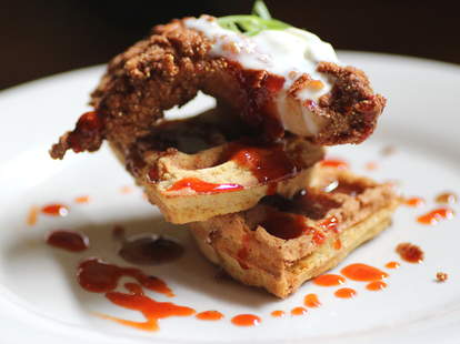Fried Chicken and Waffle at Bluestem Bar & Table in Minneapolis