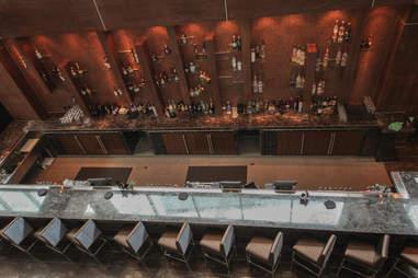 Downstairs bar at Rare, Dallas TX