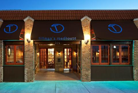 Exterior shot of Tillman's Roadhouse