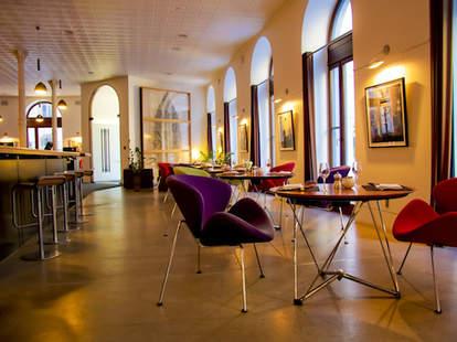 Interior of Hotel Gault