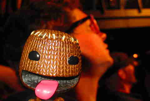 Sackboy amped up