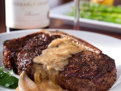 A steak at Rare