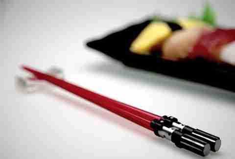 Darth Vader Star Wars lightsaber chopsticks
