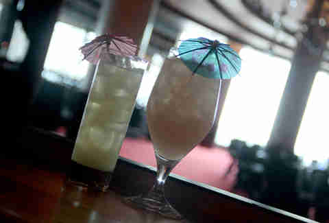 Crouching Tiger and Hidden Dragon cocktails at Yuboka at Revel in Atlantic City