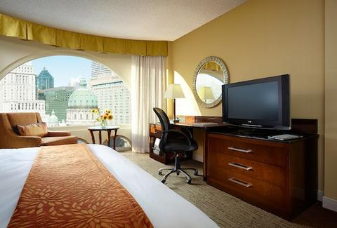 montreal marriott chateau champlain, hotel