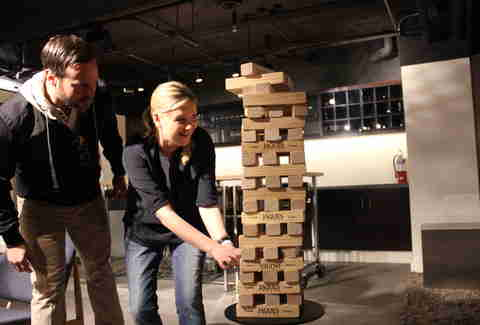 Jenga 2 at S&R Lounge
