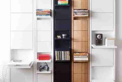 fold-up shelves