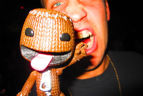 Sackboy and Drew