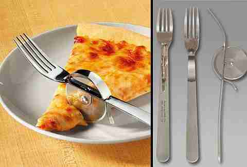 pizza slicer fork hybrid