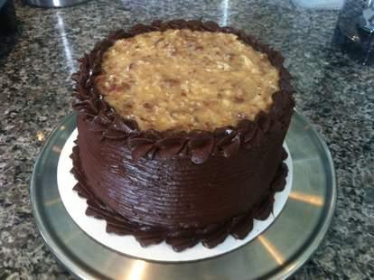 German chocolate cake from Lekka Cafe & Gifts