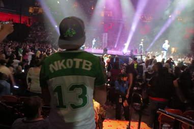 NKOTB/Boyz II Men Package Tour -- Kid In NKOTB Shirt
