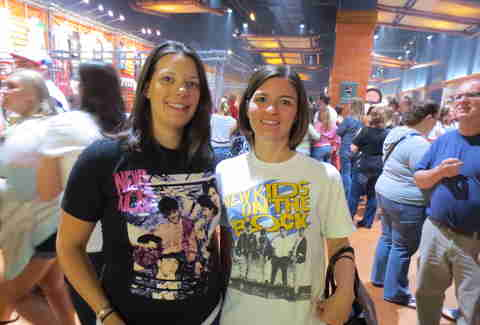 NKOTB/Boyz II Men Package Tour -- NKOTB Shirts