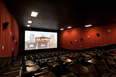 The Alamo Drafthouse.