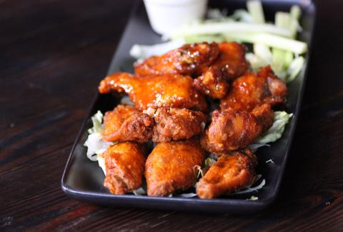 Delicious chicken wings