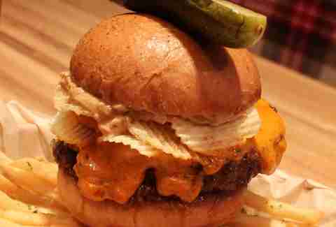 The Peanut Butter Crunch Burger