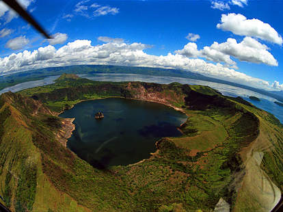 Vulcan Point Island in the Philippines