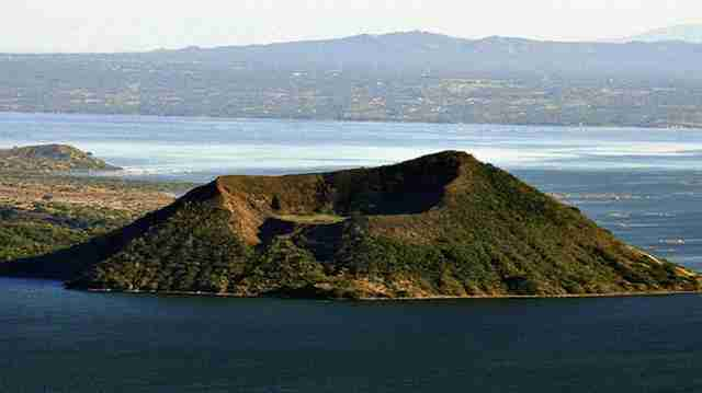 Taal Volcano in Luzon, Philippines