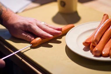 Kevin Gillespie - hot dog