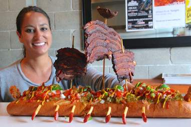 Po Dogs Viking Ship Hot Dog