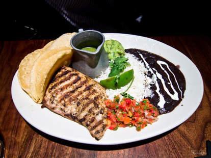Fish Tacos at Hub 51