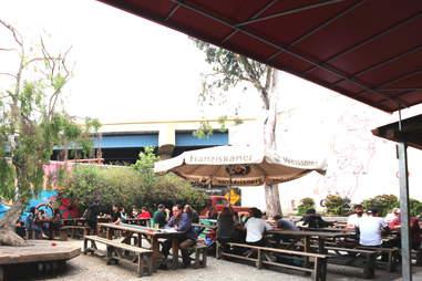The outdoor area at Zeitgeist