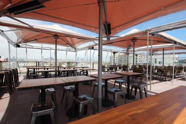 Tables at El Techo